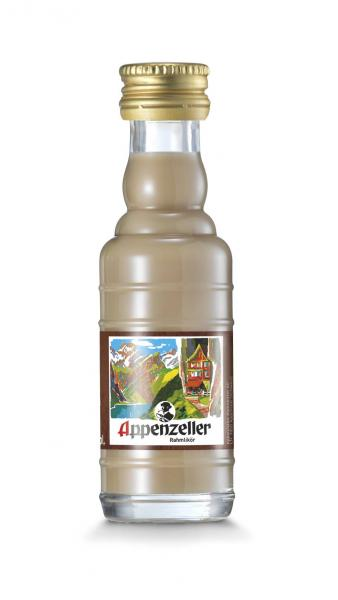 Appenzeller Alpenbitter Rahmlikör Mini